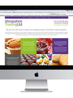 Shropshire Trading Website