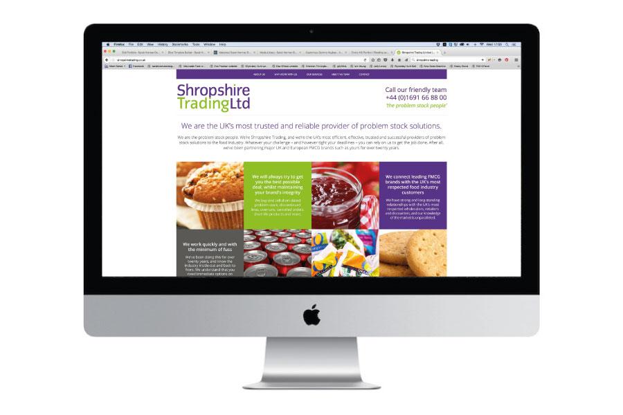 Shropshire Trading Website